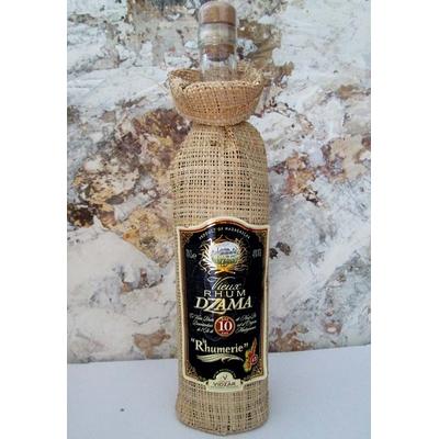 VIEUX RHUM DZAMA 10 ans 70cl 45° Distillerie Vidzar à Antanarivo