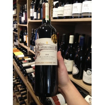 CHATEAU D'ARCOLE SAINT-EMILLION GRAND CRU 2016 BYODINAMIE 75cl 13°