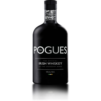 THE POGUES IRISH TRIPLE DISTILLED WHISKEY OF THE LEGENDARY GROUP 70cl 40° à 39€
