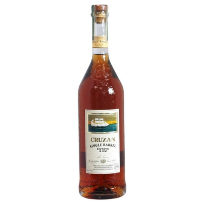 : Rhum CRUZAN Single Barrel Iles Vierges 100cl 40° à 56_euro