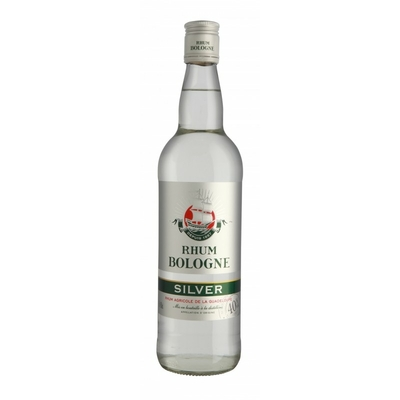 RHUM BOLOGNE BLANC SILVER GUADELOUPE 70CL 40°