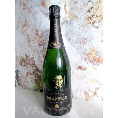 CHAMPAGNE DRAPPIER CUVEE CHARLES DE GAULLE  75cl 12° 36€