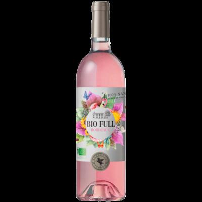 BIO FULL SANS SOUFRE  Bordeaux Rosé Château Grand Ferrand 2017 75cl 13° Certifié AB