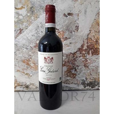 CRU GODARD Grand Vin  rouge de Bordeaux Côtes de Francs 2016 75cl 13,5° Certifié Bio AB