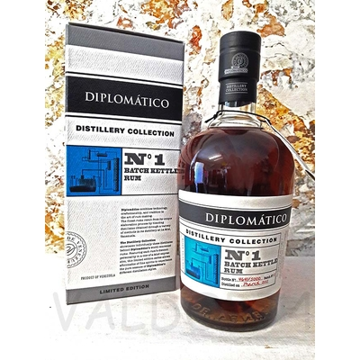 Diplomatico Rhum Vieux Distillery Collection °1 Batch Kettle Rhum 70 cl 47°