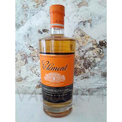 CLEMENT CREOLE SHRUBB Liqueur au rhum et à l'orange 70cl 40°