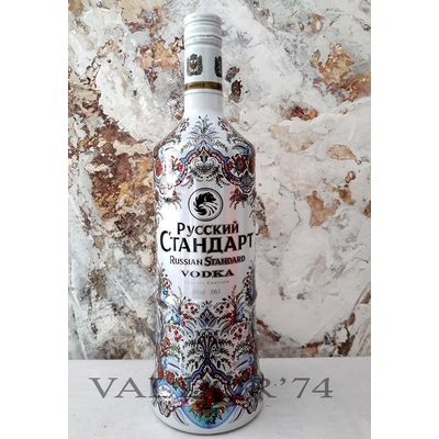VODKA RUSSIAN STANDART PAVLOVO POSAD EDITION 100cl 40°