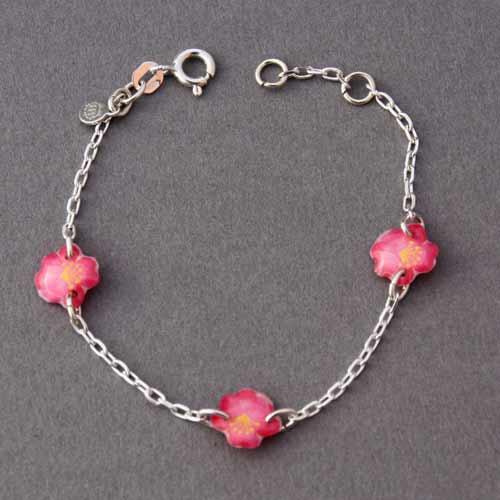 1169-bracelet-enfant-fleurs-roses-ribambelle