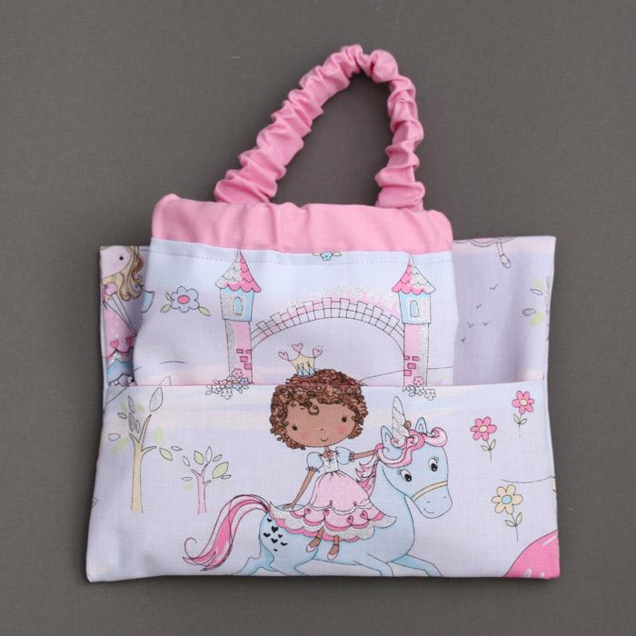 Serviette de table enfant cou lastique et sa pochette assortie princesses et paillettes a - Pochette serviette de table ...