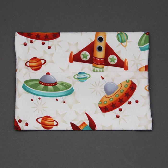 Serviette de cantine enfant lastique fus es et pochette assortie - Pochette serviette de table ...