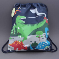 Grand sac de sport Dinosaure Bobble Art