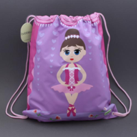 Grand sac de sport Danseuse Bobble Art