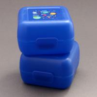 Lot 2 petites boites à goûter Planètes Creek sans BPA