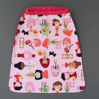 Serviette de table enfant cou élastiqué Les filles Lilooka