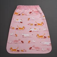 Serviette de cantine enfant élastique Les chatons Lilooka