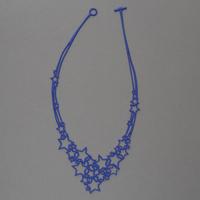 Collier Etoiles Batucada bleu