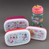 Lot boites à goûter - déjeuner et gourde Sirènes sans BPA Tyrrell Katz enfants