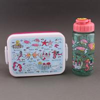 Lot boite à goûter - déjeuner et gourde Sirènes sans BPA Tyrrell Katz enfants