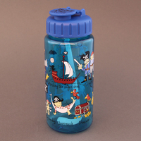 Gourde + paille Pirates Tyrrell Katz sans BPA