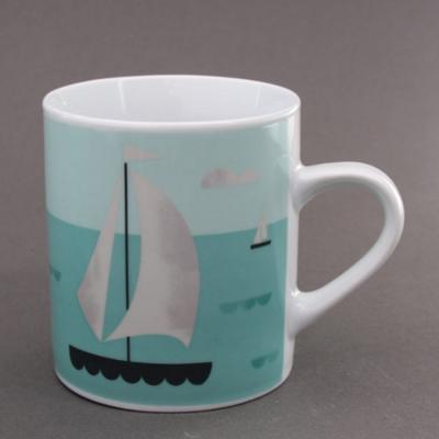 Mug Voilier en porcelaine Magpie