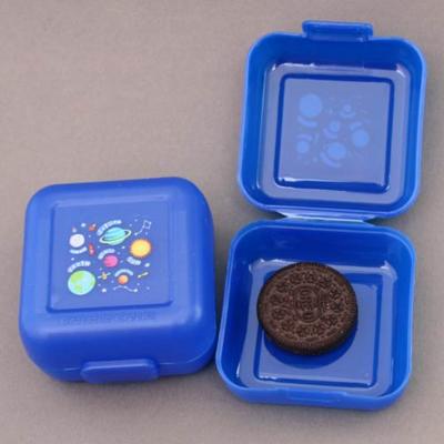 2 petites boites à goûter Planètes Creek sans BPA