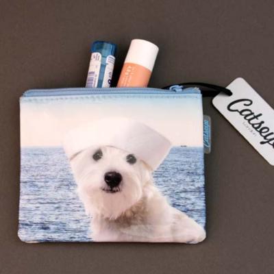 Porte-monnaie chien marin Catseye