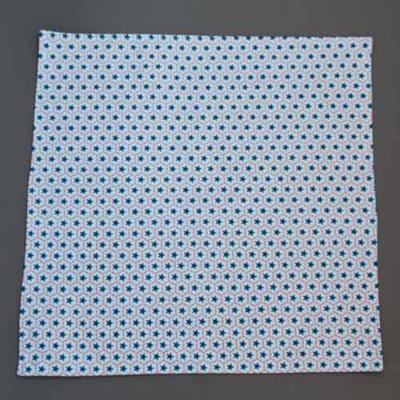 Grande serviette de table enfants Etoiles bleues