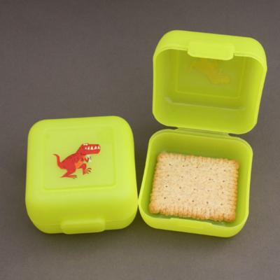 2 petites boites à goûter dinosaure T-Rex Crocodile Creek sans BPA