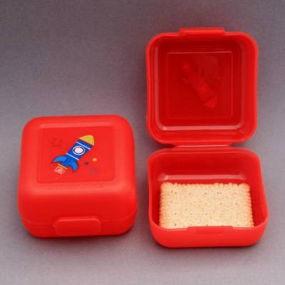 2 petites boites à goûter Fusée Crocodile Creek sans BPA