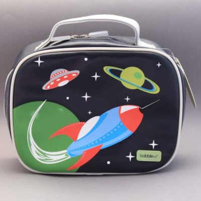 Lunch bag isotherme fusée Bobble art