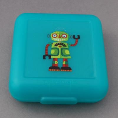 Boîte à goûter robot Crocodile Creek sans BPA