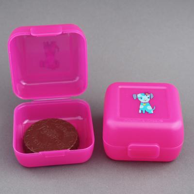 2 boites à goûter enfant sans BPA Chiot