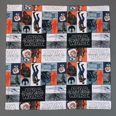 Grande serviette de table enfants Star wars Lilooka