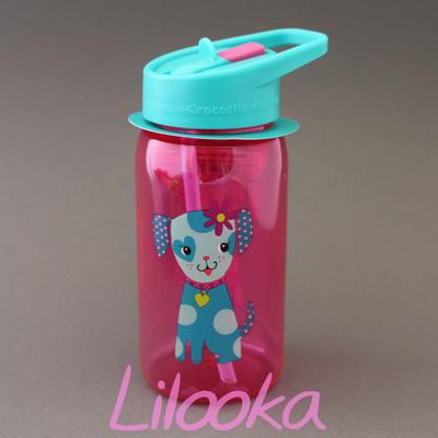 Gourde + paille sans BPA Chiot