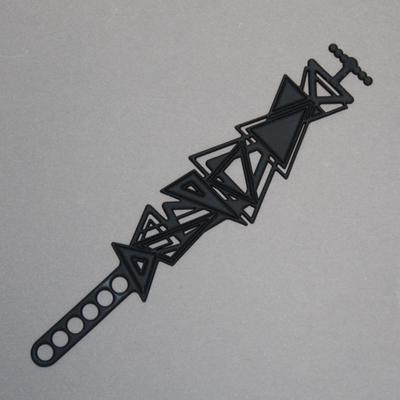 Bracelet Batucada Kheops noir