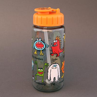 Gourde + paille Monstres Tyrrell Katz sans BPA