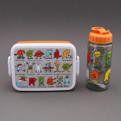Boite à goûter - déjeuner et gourde Monstres sans BPA Tyrrell Katz enfants