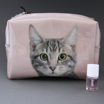 Trousse de toilette Chat Catseye femme