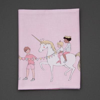Protège carnet de santé Licorne
