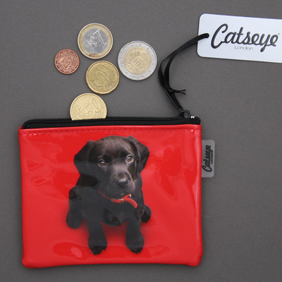 Porte-monnaie chien Labrador Catseye