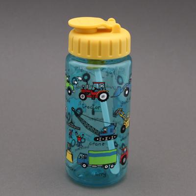 Gourde + paille sans BPA  Engins et camions