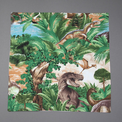 Grande serviette de table enfants Dinosaures Lilooka