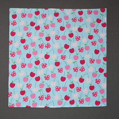 Grande serviette de table enfants Cerises Lilooka