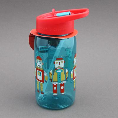 Gourde + paille sans BPA 2 Robots