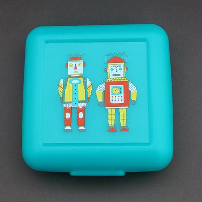 Boîte à goûter sans BPA 2 Robots