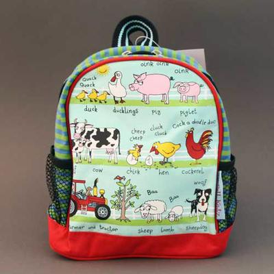 Mini sac à dos A la ferme Tyrrell Katz pour enfants