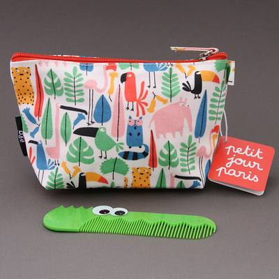 Trousse de toilette enfant Jungle