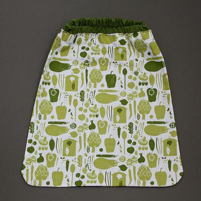 Serviette de cantine enfant élastique Les légumes
