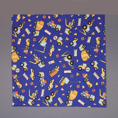 Grande serviette de table enfants Chantier