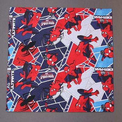 Grande serviette de table enfants Spiderman Lilooka
